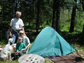 Tent Camping at Snowflake